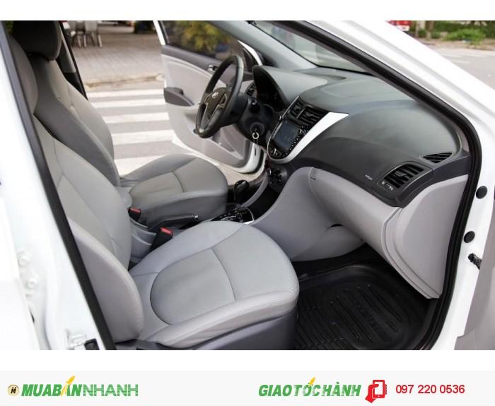 Bán Hyundai Accent 1.4AT xe nhập nguyên con màu trắng 10