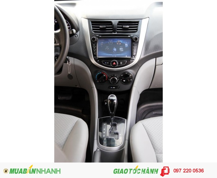 Bán Hyundai Accent 1.4AT xe nhập nguyên con màu trắng 12