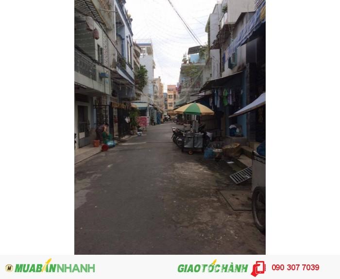 Bán nhà 10.5 tỷ, 8.6x22m, 4 tấm Hẻm 10m Trịnh Đình Trọng, P.Hòa Thạnh, Q.Tân Phú