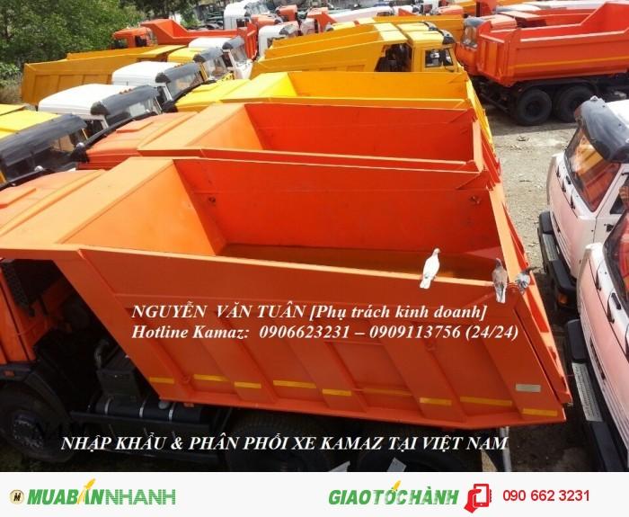Xe ben 15 tấn Kamaz 65115 mới 2016 ( + 5 chỉ vàng SJC)