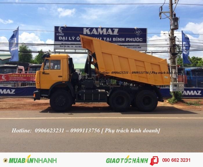 Xe ben 15 tấn Kamaz 65115 mới 2016 (Khuyến mãi 100% trước bạ + 5 chỉ vàng SJC)