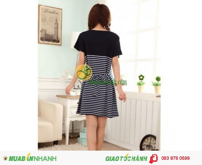 Váy Bầu Kết Hợp Cho Con Bú NX8221