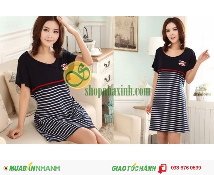 Váy Bầu Kết Hợp Cho Con Bú NX8223