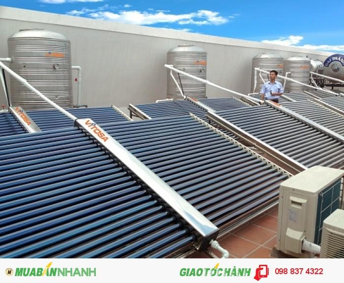 Lăp đặt máy năng lượng mặt trời của Vitosa