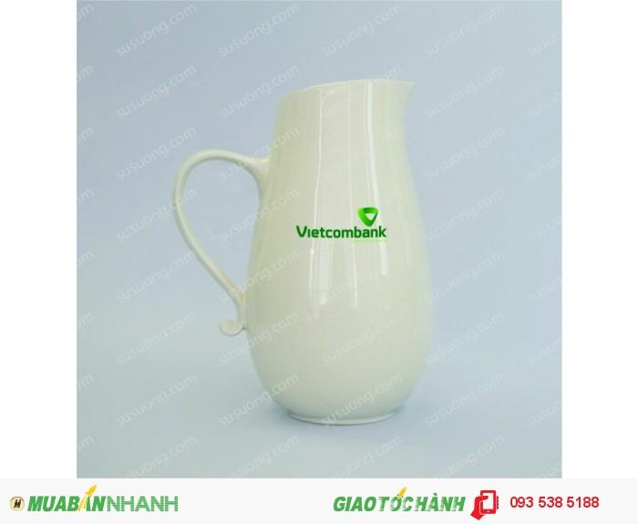 Bộ ấm trà in ấn logo tại Đà Nẵng - ly thủy tinh in ấn - Gốm sứ in ấn logo1