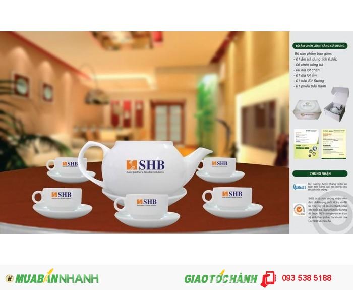 Bộ ấm trà in ấn logo tại Đà Nẵng - ly thủy tinh in ấn - Gốm sứ in ấn logo3