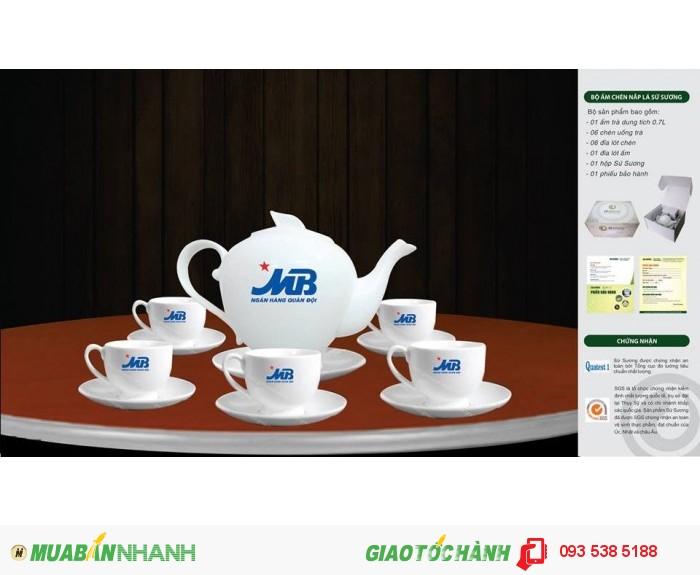 Bộ ấm trà in ấn logo tại Đà Nẵng - ly thủy tinh in ấn - Gốm sứ in ấn logo4