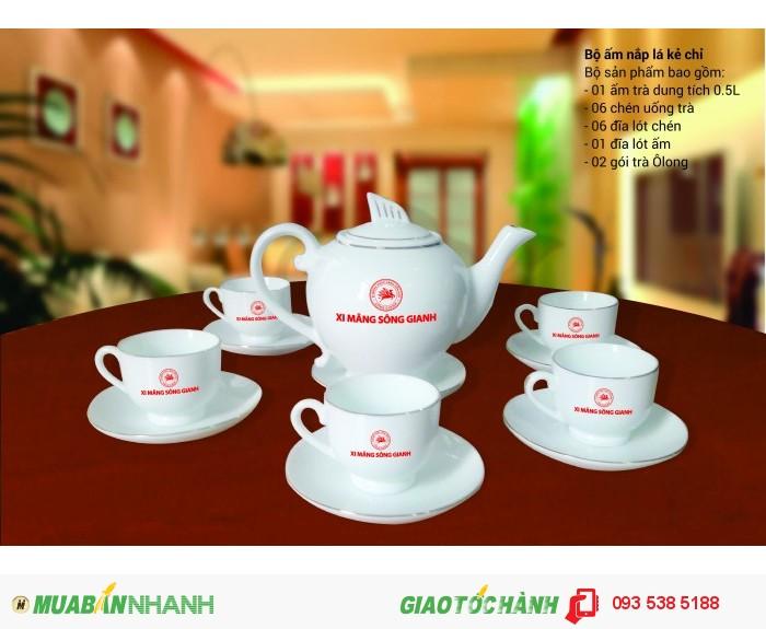 Bộ ấm trà in ấn logo tại Đà Nẵng - ly thủy tinh in ấn - Gốm sứ in ấn logo6