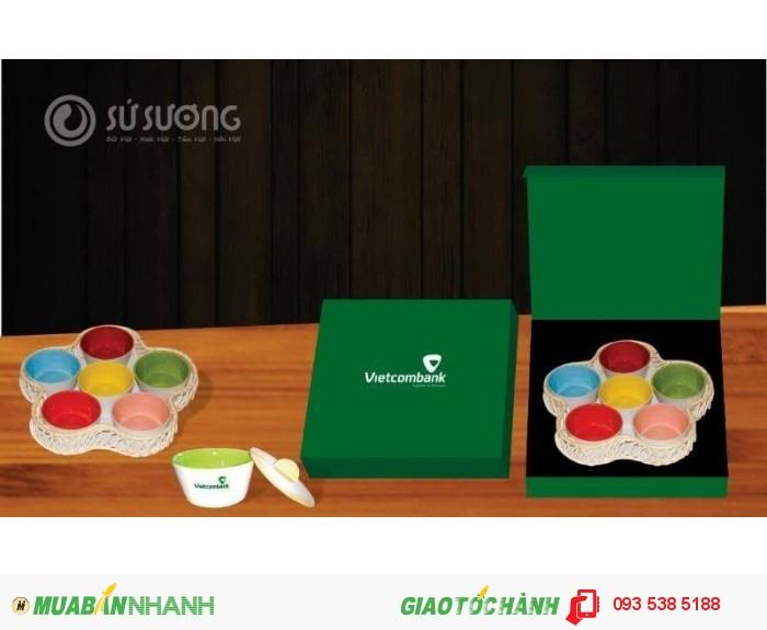 Bộ ấm trà in ấn logo tại Đà Nẵng - ly thủy tinh in ấn - Gốm sứ in ấn logo9