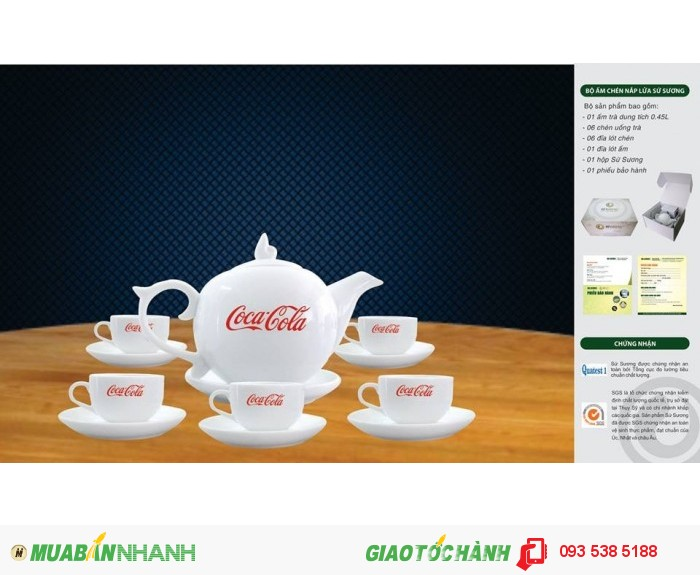 Bộ ấm trà in ấn logo tại Đà Nẵng - ly thủy tinh in ấn - Gốm sứ in ấn logo10