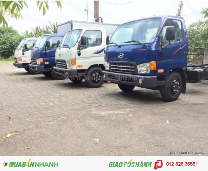 Xe tải Hyundai HD98 6,5 tấn trả góp giá cực rẻ