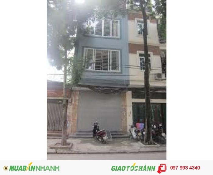 (Cực gấp) Bán nhà mặt phố Nguyễn Đức Cảnh, Hoàng Mai, 60m2 x 7,2 tỷ có TL