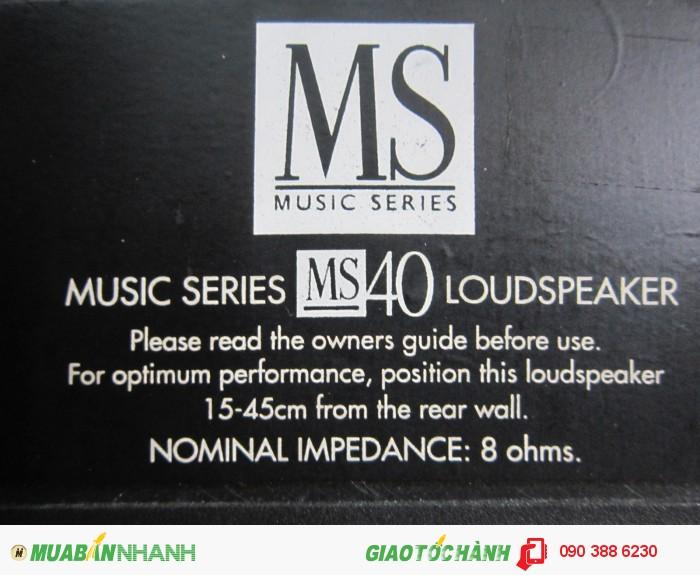 Loa MORDAUNT-SHORT MS 40