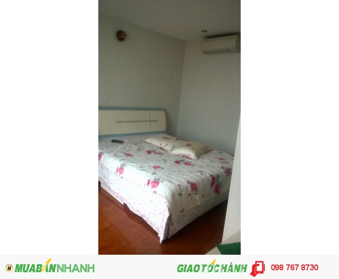 Cho thuê căn hộ Fafilm VNT Tower số 19 Nguyễn Trãi, 3 phòng ngủ, đủ đồ