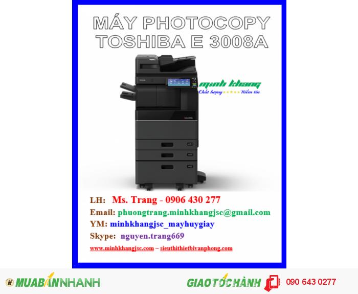 Máy photocopy toshiba e-studio 3008a0