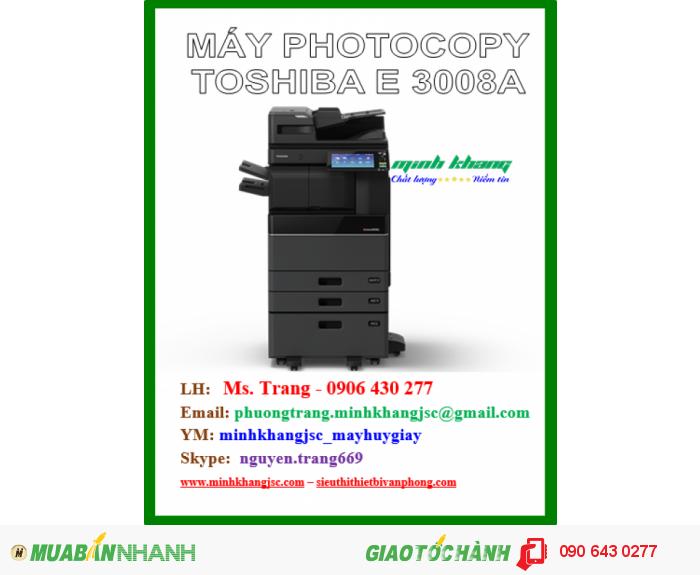 Máy photocopy toshiba e-studio 3008a1