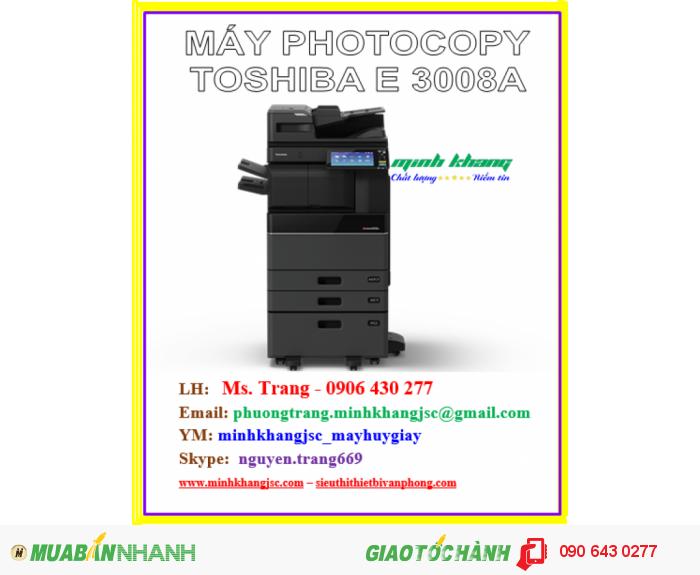 Máy photocopy toshiba e-studio 3008a3