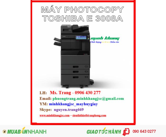 Máy photocopy toshiba e-studio 3008a4