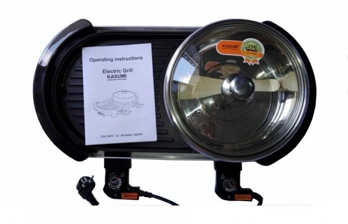 Bếp nướng và nấu lẩu 02 mâm nhiệt PAN chất lượng cao