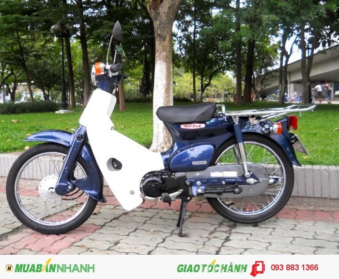 Bán  Xe Cub 93 - 50 Nhật SX 2010 Fi Mới Như Khui Thùng giá 32tr 8