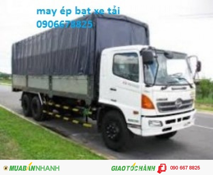 Bạt che mưa xe tải