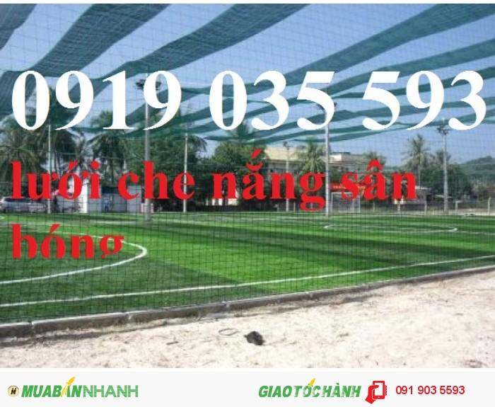Lưới bao sân bóng đá các loại trên Toàn Quốc chất liệu nhựa dẻo mềm bền cao