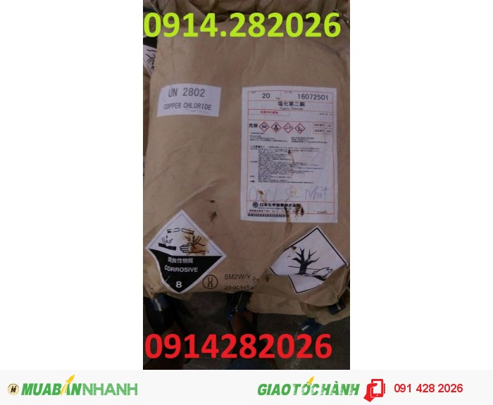 Bán CuCl2-Đồng-Clorua-Copper-Chloride0