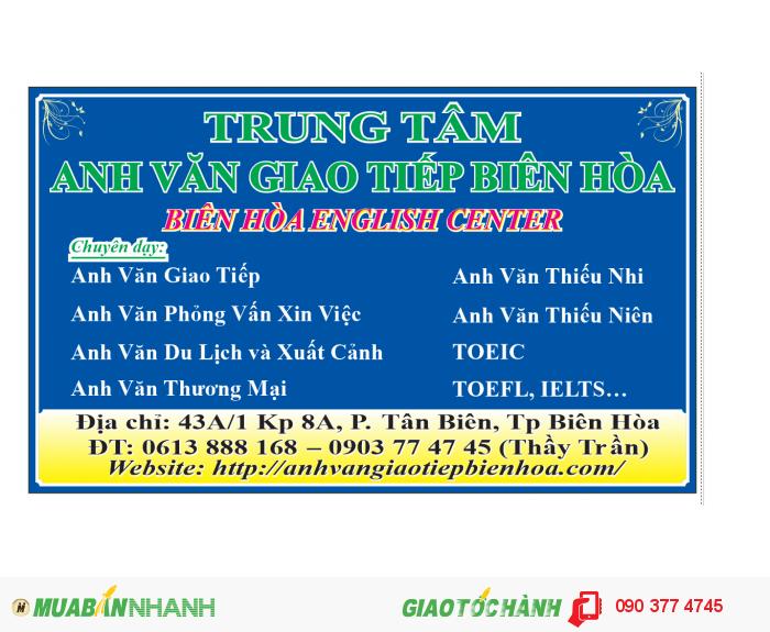 Anh Van Giao Tiep Bien Hoa