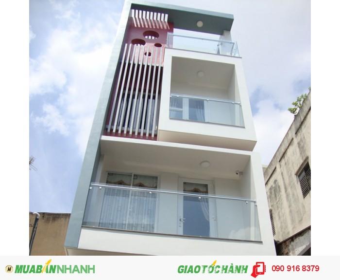 Xuất cảnh bán nhà 3 lầu, 6PN hẻm 6m Hàn Hải Nguyên, Phường 9, Quận 11. Giá 3,55 tỷ