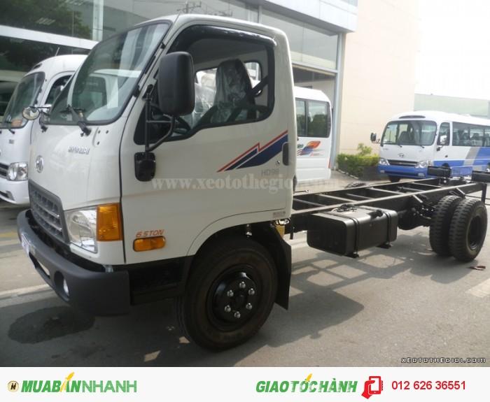 Xe tải Hyundai HD98S 6,5 tấn trả góp giá cực rẻ