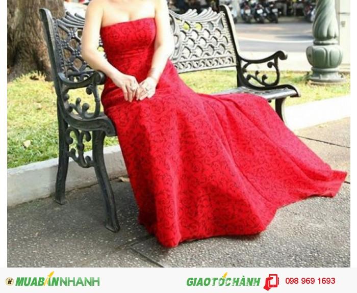 Đầm dạ hội, thiết kế và may riêng, 4