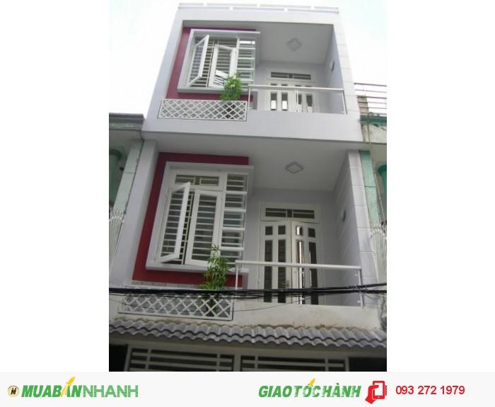 Nhà hẽm rộng Lê Thúc Hoạch 4m x 13.2m , 2 lầu mới gần Văn Cao, NSơn