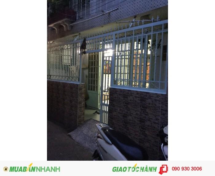 Cần bán nhà 2 lầu đường Đinh Bộ Lĩnh, diện tích 59m2, hướng Đông Nam