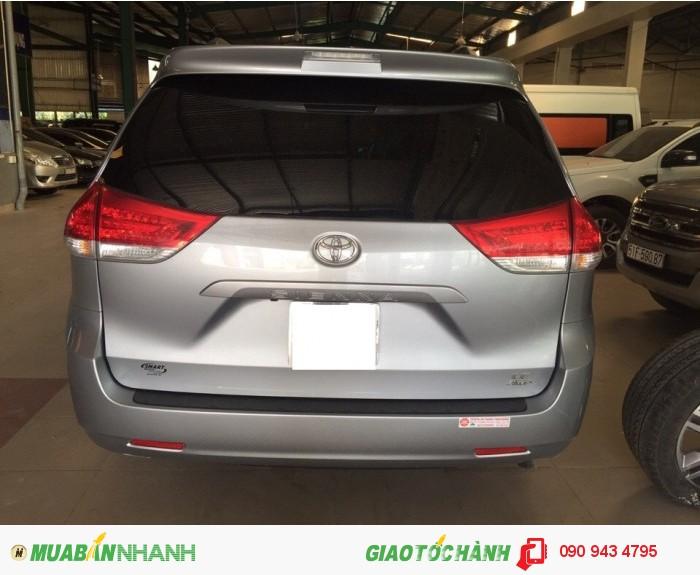 Toyota Sienna 2 cầu đăng ký 6/2k15, nhập Mỹ