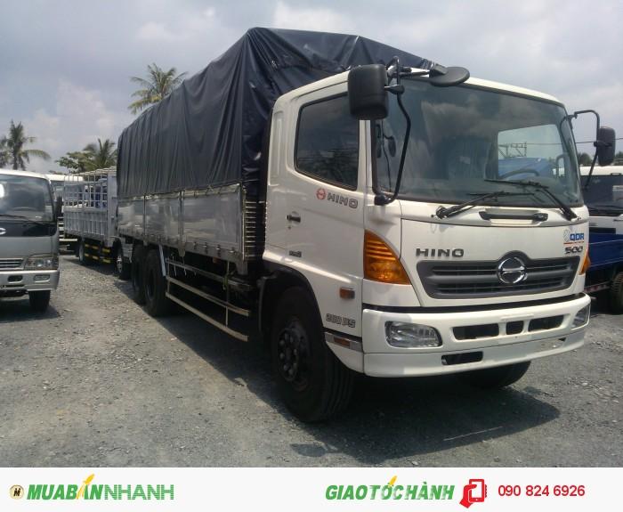 Bán xe tải Hino 15 tấn 3 chân, 16 tấn 3 chân nhập khẩu 0