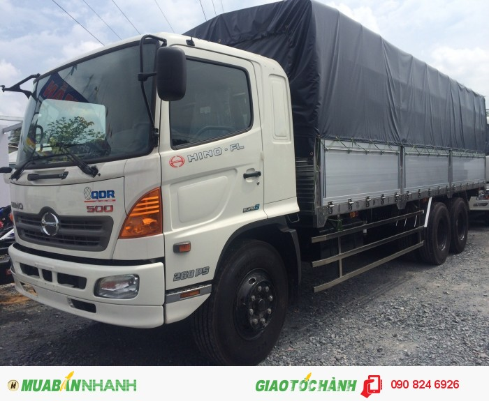 Bán xe tải Hino 15 tấn 3 chân, 16 tấn 3 chân nhập khẩu 1
