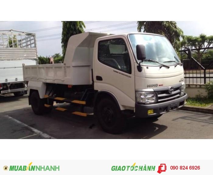 Bán xe Ben Hino 4T5, Giá xe Ben Hino 4T5/ 4.5 tấn nhập khẩu