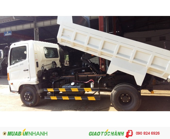 xe ben Hino 6T4 FC nhập khẩu, 2