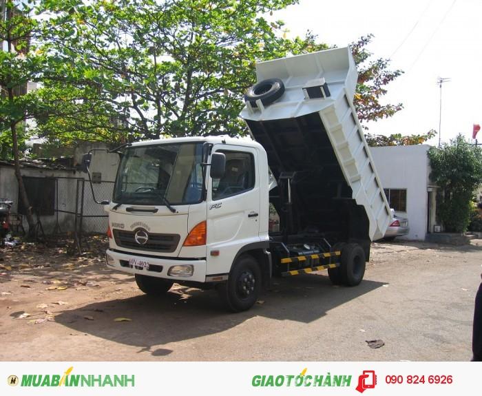 xe ben Hino 6T4 FC nhập khẩu, 3