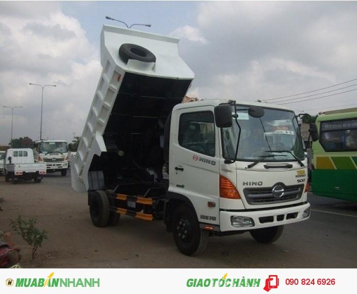 xe ben Hino 6T4 FC nhập khẩu, 4