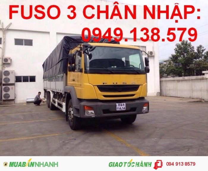 Xe tải Fuso FJ 15tan 3chan -0949.138.579 ,fuso fj ,xe Fuso FJ thùng mui bạt,thùng kín