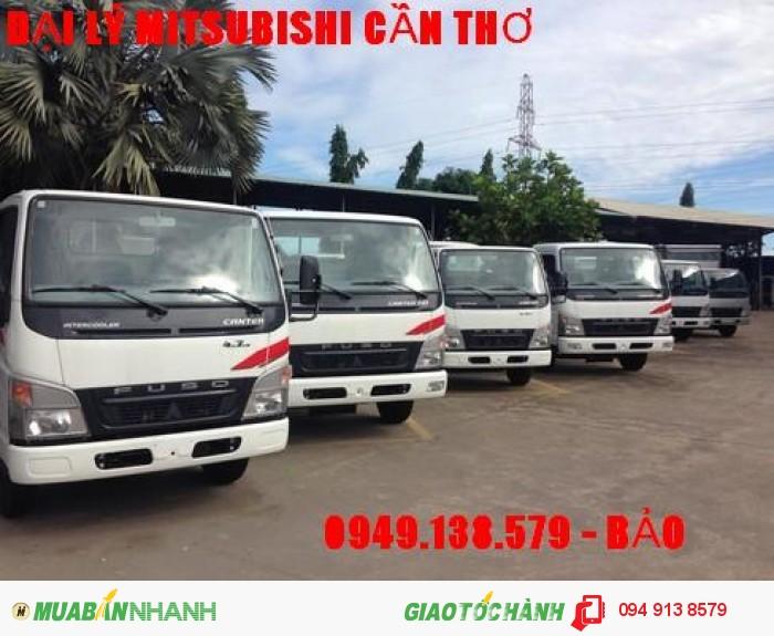 Xe tải Mitsubishi Fuso Canter HD 5tan   /đại lý bán xe tải Fuso 5t thùng mui bạt,thùng kín