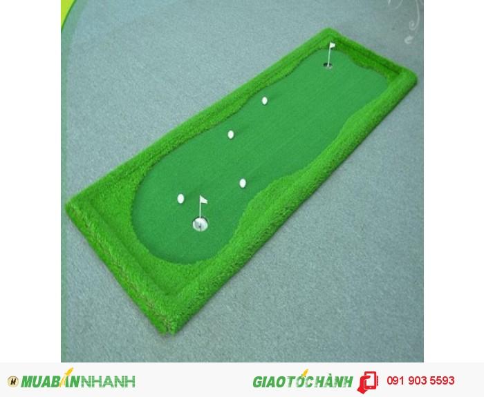 Phụ kiện sân tập golf: lưới, thảm, tee, bóng, gậy chơi golf, máy nhặt bóng, tâm, khay đựng bóng, thảm golf mini