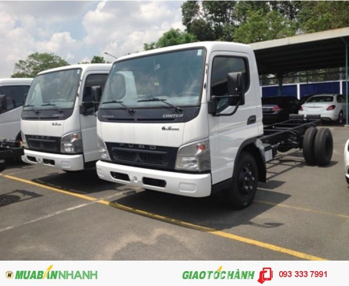 Xe tải Canter 6.5WIDE (3.5 Tấn)