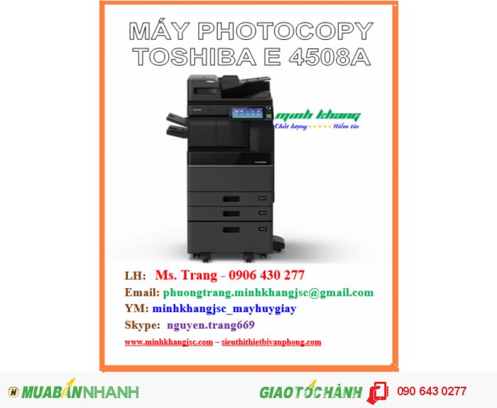 may photocopy toshiba e4508a3