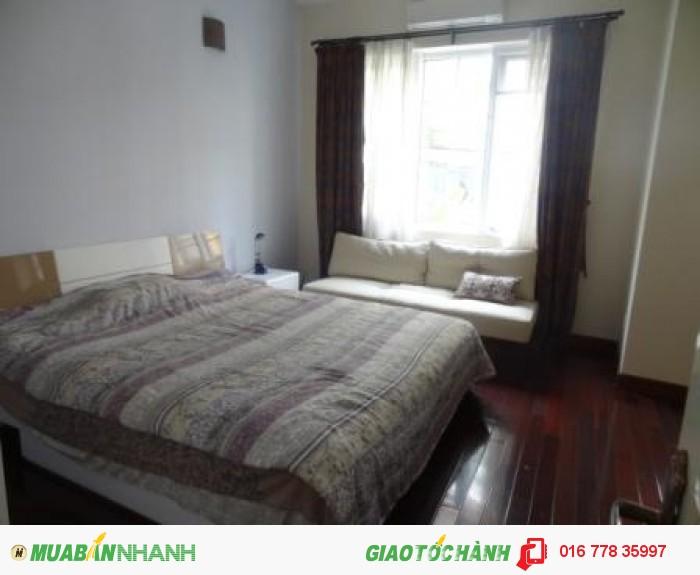 Cho thuê nhà ngõ 12 Đặng Thai Mai,Tây Hồ,mặt tiền 9m,có 6PN, ô tô đỗ cửa,đầy đủ nội thất