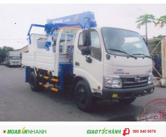 Xe tải hino gắn cẩu ZE295 2,8 tấn mới 100% thích hợp chạy trong thành phố 1