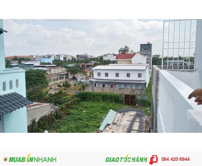 Bán nhà mới xây giá 2.3 tỷ 1 trệt 2 lầu cạnh CÂN NHƠN HÒA