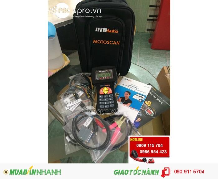 Thiết bị chuẩn đoán lỗi xe máy phun xăng điện tử Motoscan MT0001