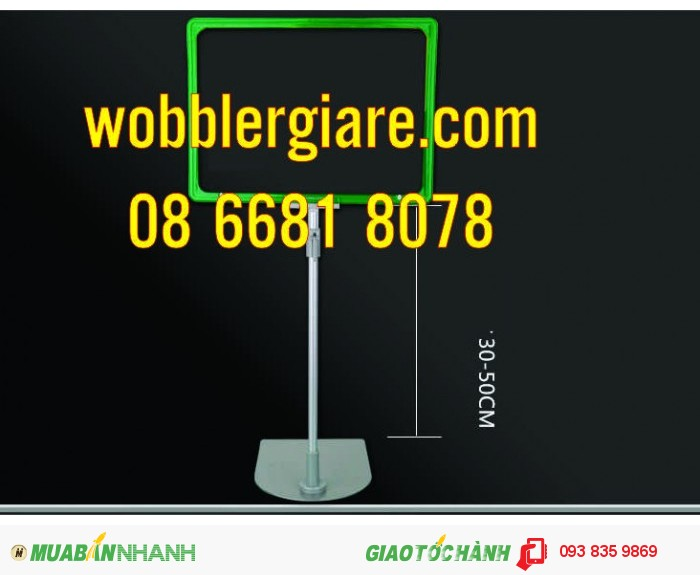 in wobbler đẹp, thiết kế wobbler, wobbler quảng cáo, sản xuất wobbler, wobbler để bàn, wobbler nhựa